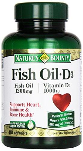 Fish oil 1200 mg vitamin d 1000 iu pharmaceutical grade for Fish oil vitamin d3
