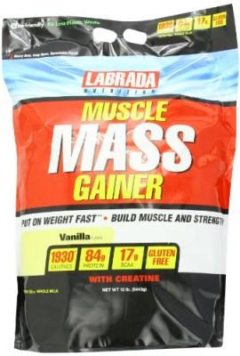 Labrada-Nutrition-Muscle-Mass-Gainer-Vanilla-12-Pound-0