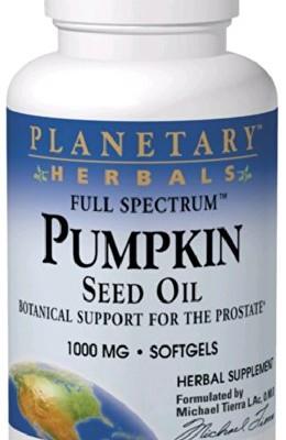 Planetary-Herbals-Full-SpectrumTM-Pumpkin-Seed-Oil-1000-mg-180-Softgels-0