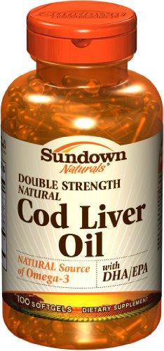 Sundown Naturals Cod Liver Oil Reviews